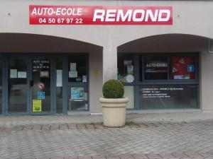 Remond auto-école Vieugy - extérieur